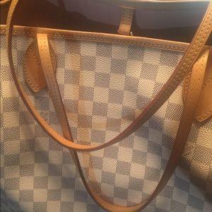 Louis Vuitton GM Neverfull Damier Azure